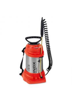 "High pressure sprayer ""INOX PLUS"" - with FPM seal - 6 bar - filling capacity 6 l - total capacity 9 l - side-mountable"