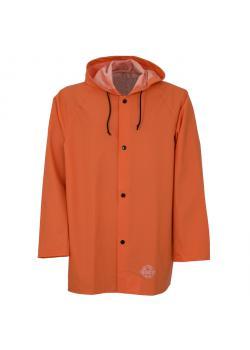 Jacket - OCEAN - Waterproof - 80cm - with hood - Size S to 3 XL - Orange