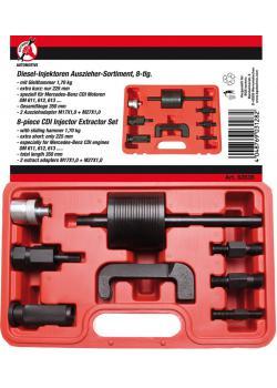 Diesel-Injektoren-Auszieher Satz - mit Gleithammer 1,7 kg - Länge 350 mm - 8-tlg.