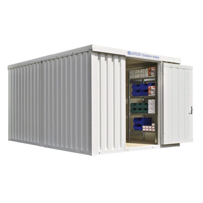 """Container - """"IC 1340"""" - isolerad - 12 m² - monterad - FLADAFI®"""