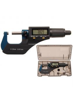 Digital-Bügelmessschraube - Messbereich 0 bis 25 mm - Messkraft 5 bis 10 N