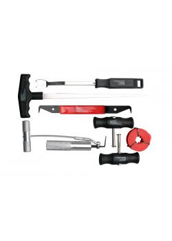 Windshield extension kit - for bonded discs - 7 pcs.