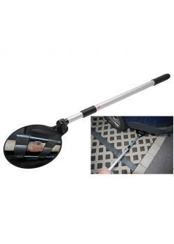 Inspektionsspegel - med teleskop upp till 1090 mm - ergonomiskt handtag