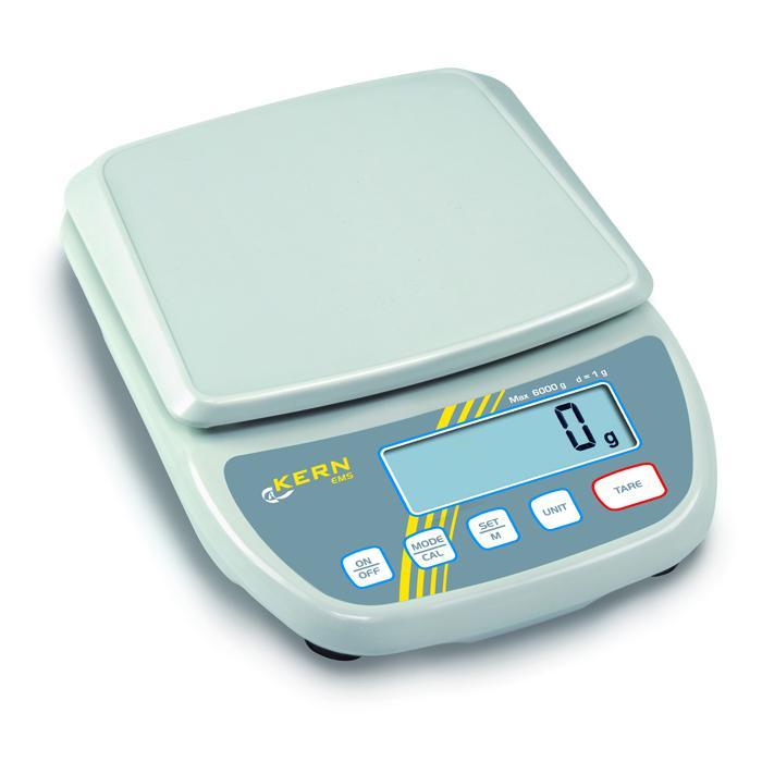 Waage - max. Wägebereich 0,3 bis 12 kg - Ablesbarkeit [d] 0,001 bis 1 g