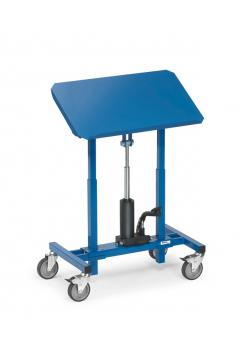 Material stand - height adjustable from 720 - 1080 mm - tiltable