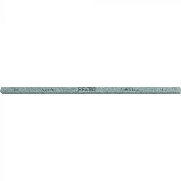 PFERD Schleif- und Polierstein - CARBIDE - vierkant - 4 x 4 mm bis 25 x 13 mm - Länge 150 mm - Korngröße 150 bis 600 - Preis per VE