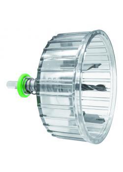 Kreisschneider HKS Profi - Bohrdurchmesser 35 bis 105 mm - max. Schnitttiefe 56 mm