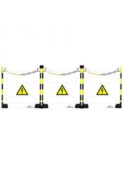 """Absperrungs-Set """"Safety-TAG"""" - 2,55 x 0,96 m"""