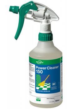 Power Cleaner 150 - lågskummande rengöringsmedel för livsmedelsindustrin - handsprayflaska 500 ml