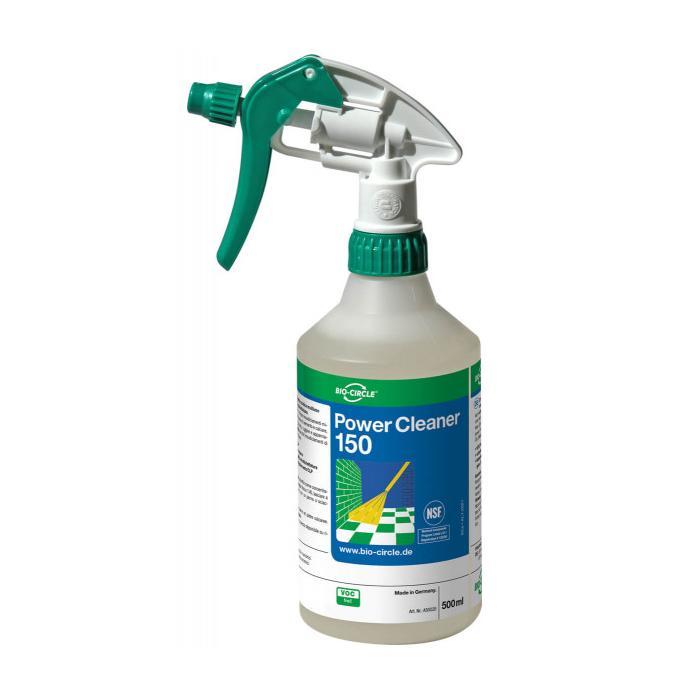 Power Cleaner 150 - schaumarmer Reiniger für die Lebensmittelindustrie - Handsprayflasche 500 ml