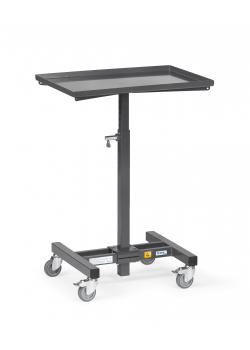 ESD Material stand - height adjustable - carrying capacity 150 kg