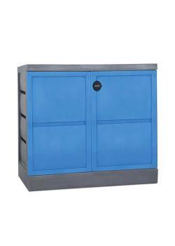 DENSORB dispenserstation L - med tvåbladig dörr - oljeversion