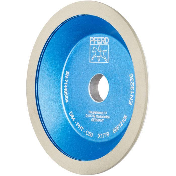 Diamant-Schleifwerkzeug - PFERD 12A2/45° - Korngröße D 64 oder 126