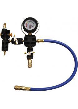 rubinetto di riempimento impianto di raffreddamento - per Kühlsystem- e impressione vuoto e tester