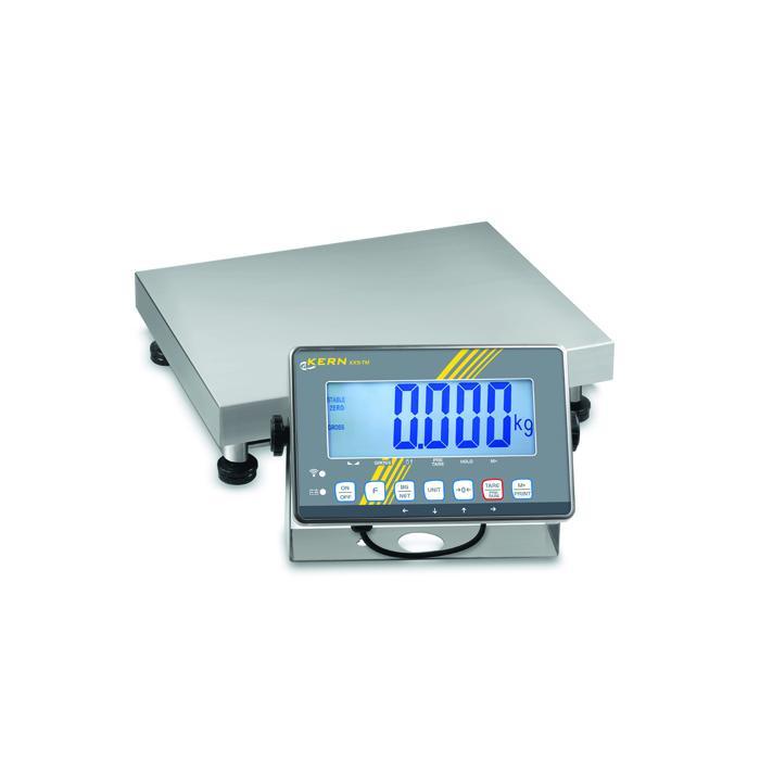 Waage - max. Wägebereich 3 bis 300 kg - Eichzulassung - Zweibereichswägung