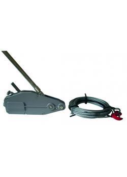 Endless kabel - lyftkapacitet 3,2 ton - inklusive 20 m kabel -. GS Testad