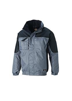 Winter jacket Industry - Dickies - waterproof - sizes S to 4XL - gray / black
