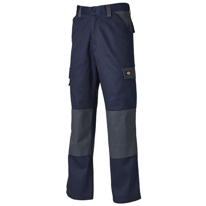 Arbetsbyxor - Dickies - storlek 21-126 - marinblå/grå