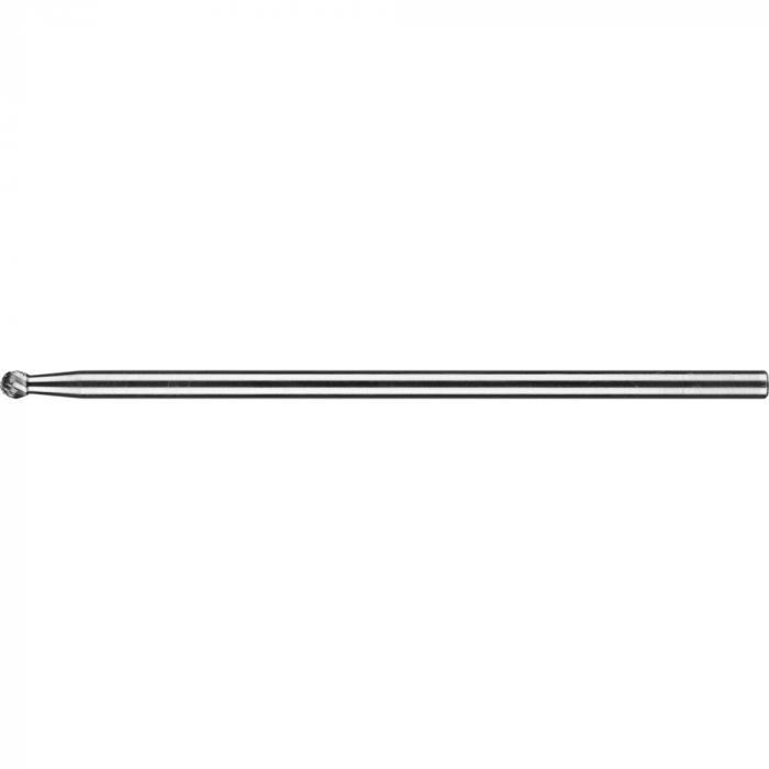 PFERD HM-Frässtift - Kugelform KUD - 3 PLUS - Frässtift-Ø 6 bis 12 mm - Langschaft-Ø 6 mm - SL 150 mm