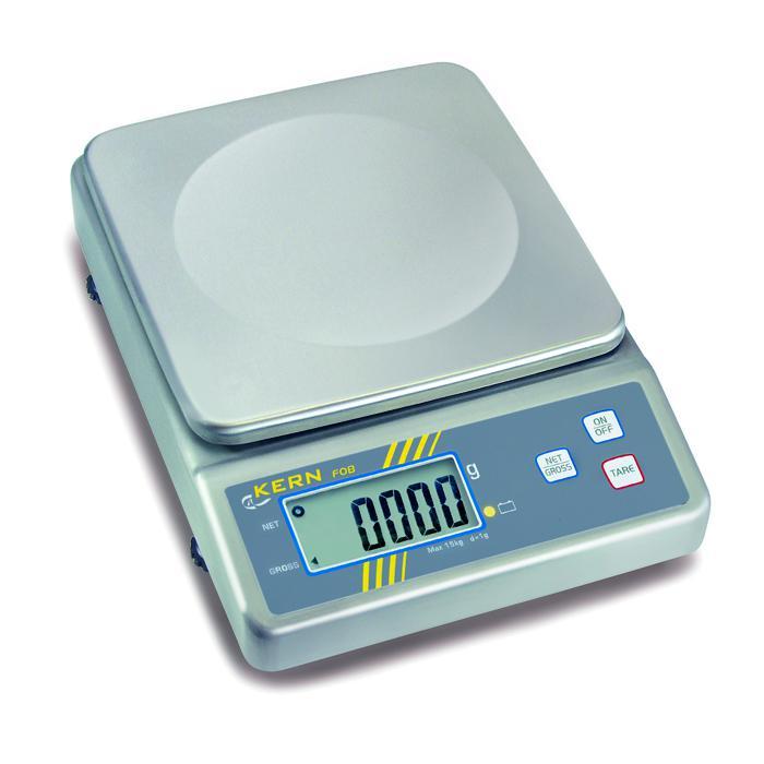 Waage - max. Wägebereich 1,5 bis 30 kg - mit erhöhtem Feuchteschutz
