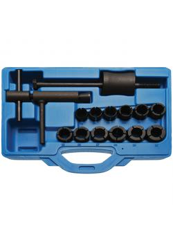 Bremskolben-Werkzeug-Satz - für Motorräder - für Kolben von 19 bis 30 mm - 14-tlg.