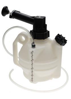 aspiration liquide - à commande manuelle - 4 litres