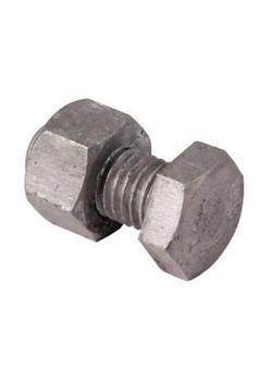 Bolt - Ø 14 mm - Längd 30 mm - förzinkat stål