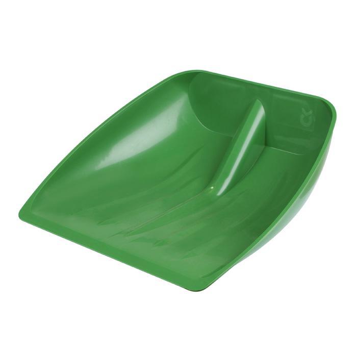 Schaufel - Kunststoff - für Schnee- und Getreide - ohne Stoßkante