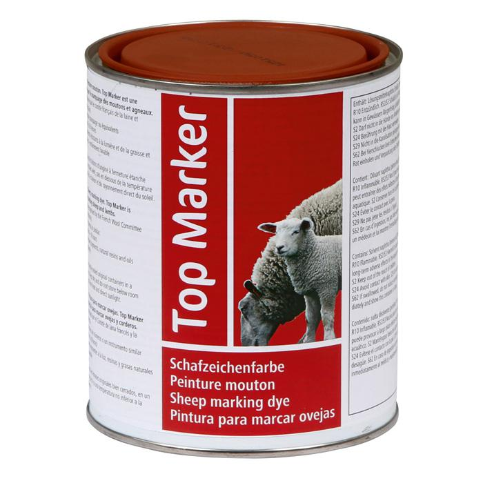 Sheep sign color - Top marker - 1 kg can - different colors