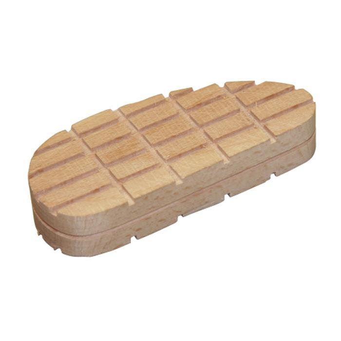 Standard träblock - längd 112 till 130 mm