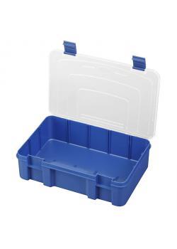 Kasten - aus Polypropylen - Farbe blau transparent