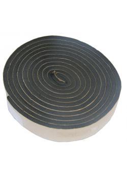 Tätnings skumgummi - tjocklek 3,8 mm - 2000 mm längd