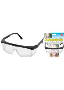 Skyddsglasögon - med justerbar rem - stort synfält - Polykarbonat