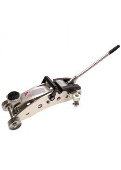 Jacks - hydraulisk - 1.5T - Aluminium - slaglängd 215 mm