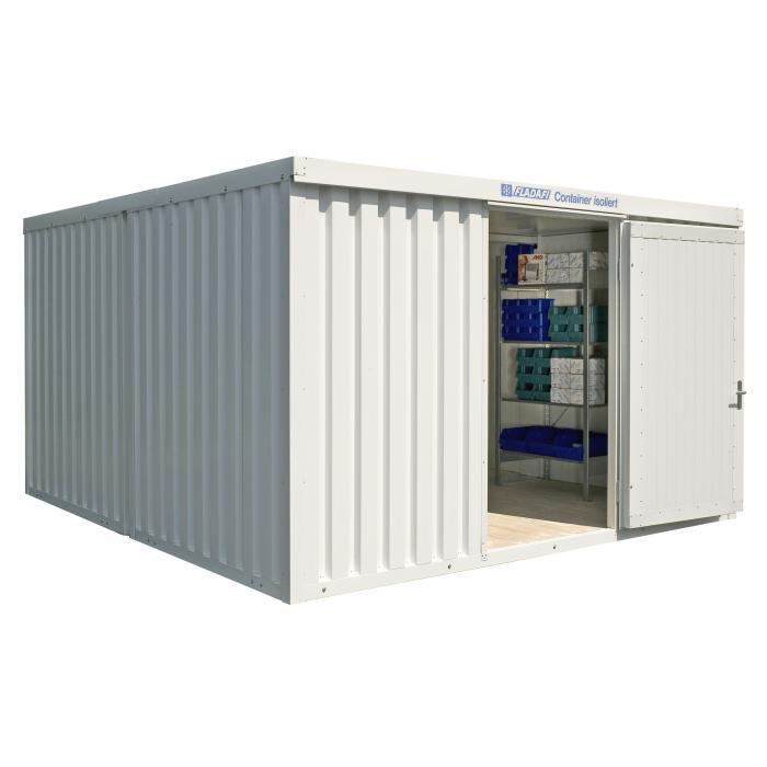 """Container - """"IC 1440"""" - isolerad - 16 m² - monterad - FLADAFI®"""