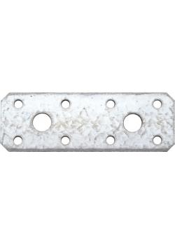 Flachverbinder - verzinkt - Maße 100 x 35 x 2,5 mm