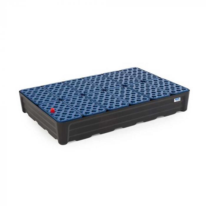 Kleingebindewanne pro-line - Polyethylen (PE) - mit Gitterrost