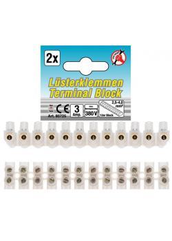 Luster terminal range - 2.5 mm - 2 pieces - 12er Block