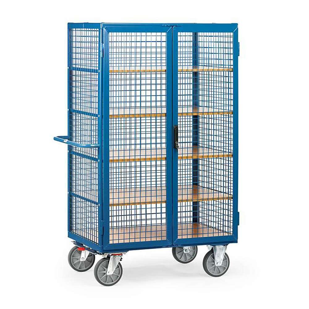 Van with mesh panels - Capacity 750 kg - including 5 floors.