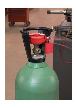 Verriegelung von Druckgasventilen
