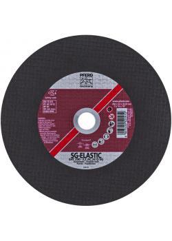 Skärande skiva - PFERD - för gjutjärn - hårdhet Q - rak Typ
