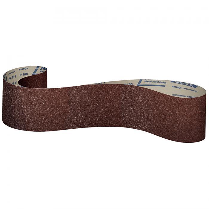 Schleifpapier Band PS 29 F - Breite 150 bis 200 mm - Länge 1600 bis 7800 mm - antistatisch