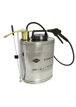 "Back sprayer ""STABILUS"" - filling capacity up to 18 l - up to 6 bar - hose length 1.2 m - back-carrying"