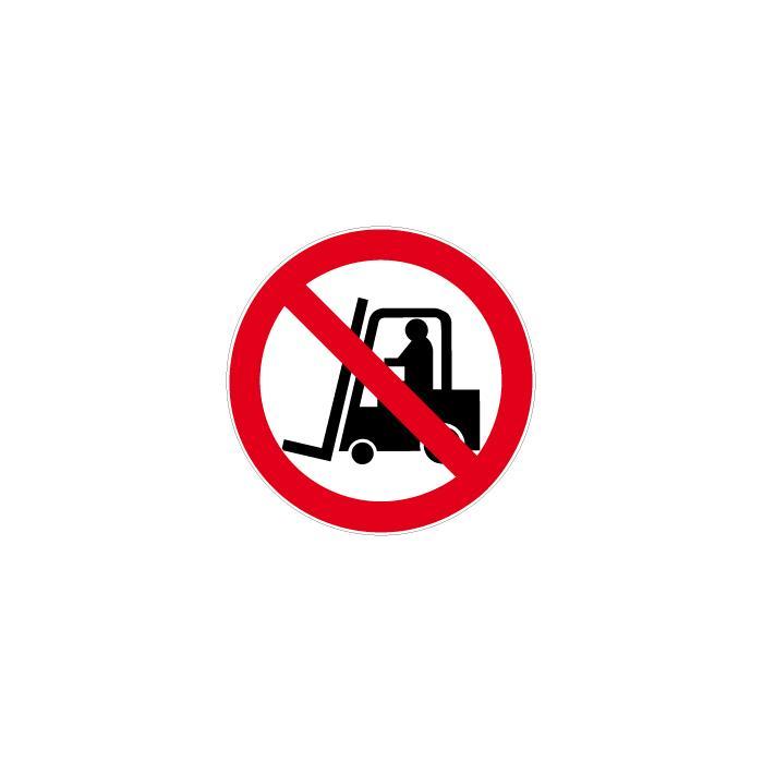 """Verbotszeichen """"Verbot für Flurförderzeuge"""" Durchmesser 5 bis 40 cm"""