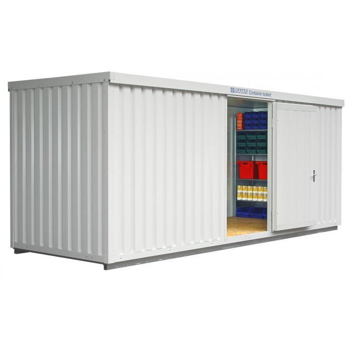 """Container - """"IC 1600"""" - isolerad - 12 m² - monterad - FLADAFI®"""