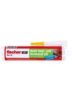 Multi adhesive and sealant KD-290 - white - 290 ml