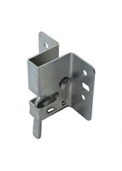 Schnäpper für Festzeltgarnitur - verzinkt - 72 x 60 mm - VE 6 Stück - Preis per VE