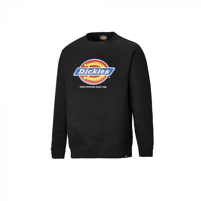 Longton sweatshirt - Dickies - Storlekar S till 4XL - svart