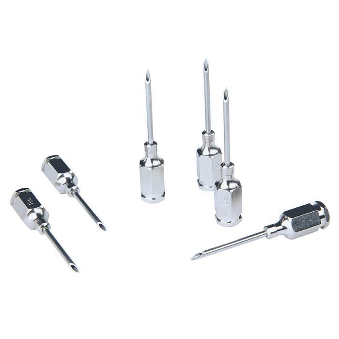HSW-PREMIUM® Kanüle - mit Gewinde-Ansatz - Ø 1,0 bis 2,0 mm - Länge 10 bis 35 mm
