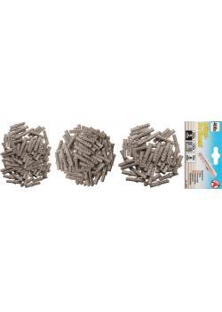Dowel range - 400 pcs. - Sizes 5, 6, 8 mm - packed separately